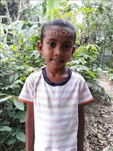 Choose a child to sponsor, like this little boy from Ghoraghat, Raj age 6