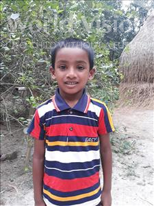 Choose a child to sponsor, like this little boy from Ghoraghat, Jonayed age 6