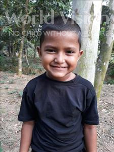 Choose a child to sponsor, like this little boy from Ghoraghat, Israfil age 5