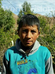 Choose a child to sponsor, like this little boy from Khantati, Alexander age 11