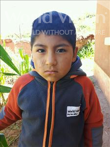 Choose a child to sponsor, like this little boy from Khantati, Neymar age 6