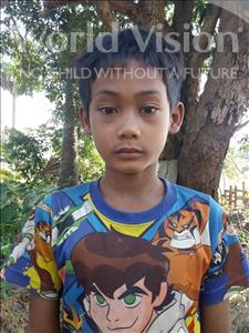 Choose a child to sponsor, like this little boy from Soutr Nikom, Soky age 9