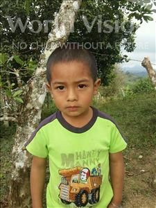 Choose a child to sponsor, like this little boy from Maya, Edixon Francisco age 4