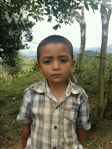 Choose a child to sponsor, like this little boy from Maya, Carlos Eliezer age 4
