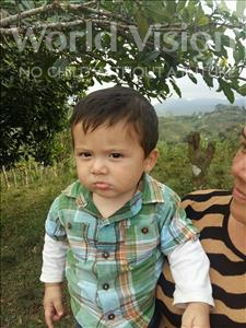 Choose a child to sponsor, like this little boy from Maya, Jonathan Josue age 1
