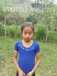 Choose a child to sponsor, like this little girl from Maya, Ana Yuleydi age 9