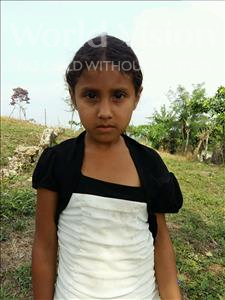 Choose a child to sponsor, like this little girl from Maya, Livin Yesenia age 6
