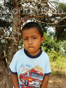 Choose a child to sponsor, like this little boy from Maya, Bani Jafeth age 3