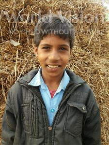 Sunny Kumar, aged 9, from India, is hoping for a World Vision sponsor