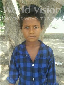 Choose a child to sponsor, like this little boy from Bhojpur, Kallu age 10