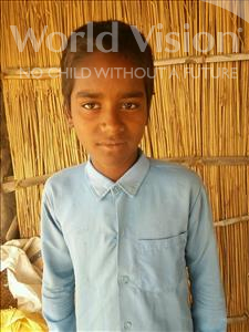 Jaiprakash, aged 11, from India, is hoping for a World Vision sponsor
