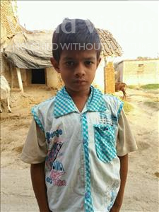 Choose a child to sponsor, like this little boy from Bhojpur, Sagar age 10