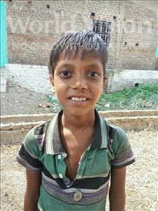 Choose a child to sponsor, like this little boy from Bhojpur, Dhan age 12