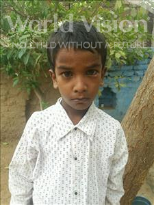 Choose a child to sponsor, like this little boy from Bhojpur, Vishanu age 8