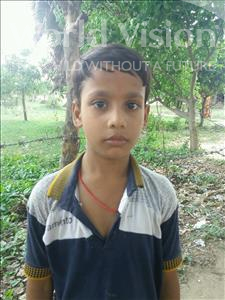 Choose a child to sponsor, like this little boy from Bhojpur, Saksham age 8