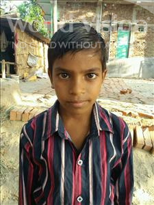 Choose a child to sponsor, like this little boy from Bhojpur, Vivek Kumar age 11