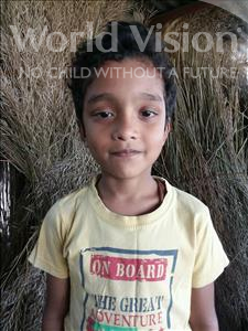 Choose a child to sponsor, like this little boy from Bhojpur, Sundaram age 9