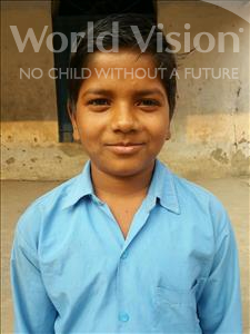 Choose a child to sponsor, like this little boy from Bhojpur, Rahul age 10