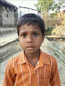Choose a child to sponsor, like this little boy from Bhojpur, Rabindra age 7
