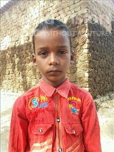 Choose a child to sponsor, like this little boy from Bhojpur, Sonu age 6