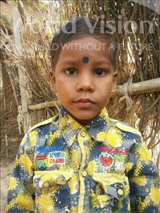 Choose a child to sponsor, like this little boy from Bhojpur, Rishu age 6