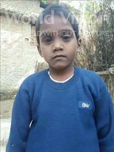 Choose a child to sponsor, like this little boy from Bhojpur, Guriya age 8