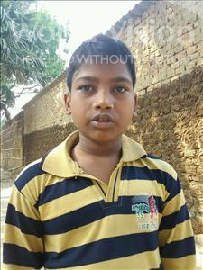 Choose a child to sponsor, like this little boy from Bhojpur, Vishnu age 12