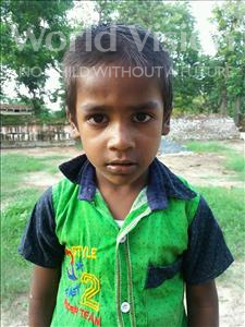 Choose a child to sponsor, like this little boy from Bhojpur, Rohit age 6