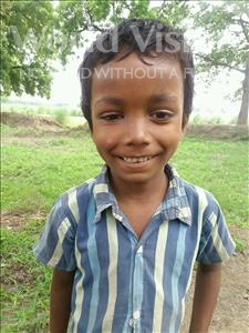 Choose a child to sponsor, like this little boy from Bhojpur, Yogesh age 7