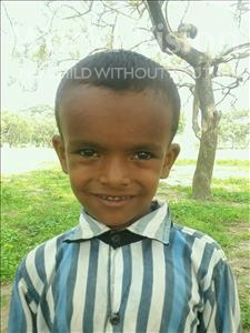 Choose a child to sponsor, like this little boy from Bhojpur, Chunu age 7