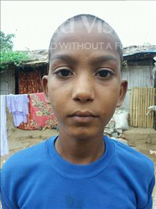 Choose a child to sponsor, like this little boy from Patna, Shivam age 10