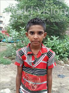 Choose a child to sponsor, like this little boy from Patna, Raj age 9