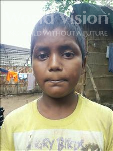 Choose a child to sponsor, like this little boy from Patna, Ashish age 9