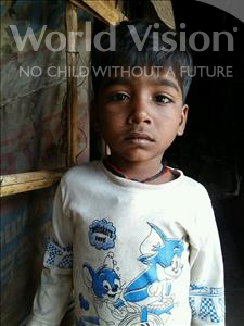 Choose a child to sponsor, like this little boy from Patna, Gaurav age 5