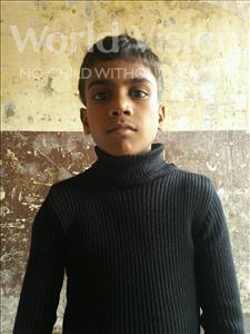 Choose a child to sponsor, like this little boy from Patna, Saurav age 8