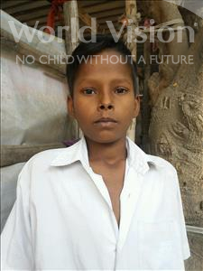 Choose a child to sponsor, like this little boy from Patna, Sidharth age 10