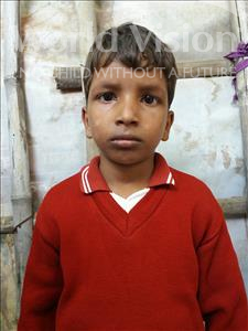 Choose a child to sponsor, like this little boy from Patna, Md age 7