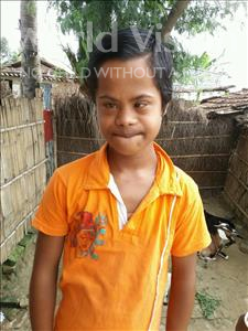 Choose a child to sponsor, like this little boy from Vaishali, Sonu age 10