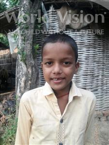 Choose a child to sponsor, like this little boy from Vaishali, Ayush age 8