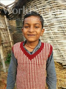 Choose a child to sponsor, like this little boy from Vaishali, Kunal age 8
