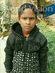Choose a child to sponsor, like this little boy from Vaishali, Ayush age 11