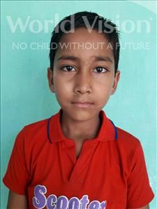Choose a child to sponsor, like this little boy from Vaishali, Rehan age 8