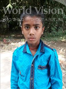 Choose a child to sponsor, like this little boy from Vaishali, Niket age 10