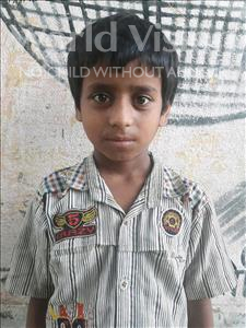 Choose a child to sponsor, like this little boy from Vaishali, Deepak age 8
