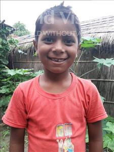 Choose a child to sponsor, like this little boy from Vaishali, Subham age 7