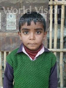 Ankush, aged 7, from India, is hoping for a World Vision sponsor