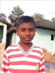 Choose a child to sponsor, like this little boy from Vaishali, Ravi age 10