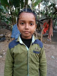 Choose a child to sponsor, like this little boy from Vaishali, Shiften Raja age 9