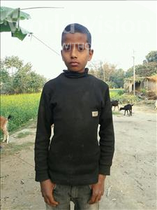 Choose a child to sponsor, like this little boy from Vaishali, Prince age 9