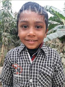 Shivam, aged 6, from India, is hoping for a World Vision sponsor